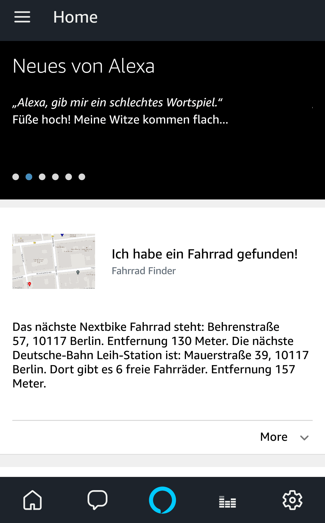 """Fahrrad Finder Screenshot"""